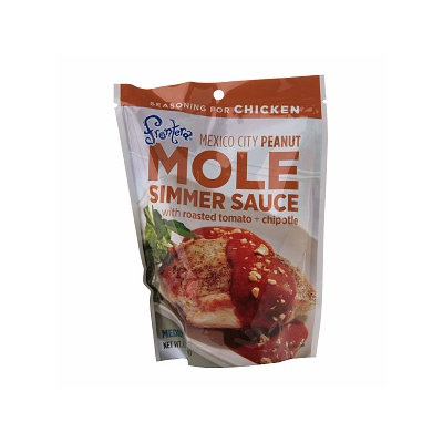 Frontera Mole - Mexico City Peanut Seasoning Sauce
