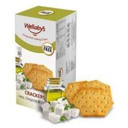 Wellaby's Gluten Free Crackers Feta Oregano Olive Oil 3.9 oz