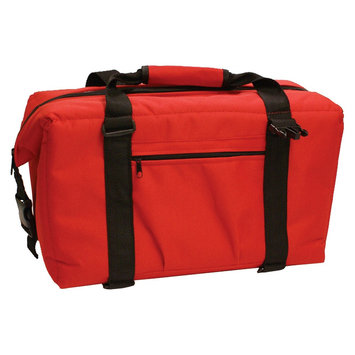 Norcross 24-Pack NorChill Hot/Cold Cooler Bag, Red