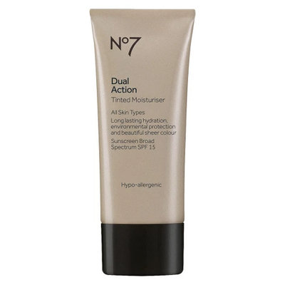 No7 Dual Action Tinted Moisturizer SPF 18