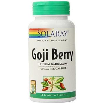 Solaray Goji Berry Capsules, 700 mg, 60 Count