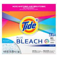 Tide Plus Bleach Powder Laundry Detergent