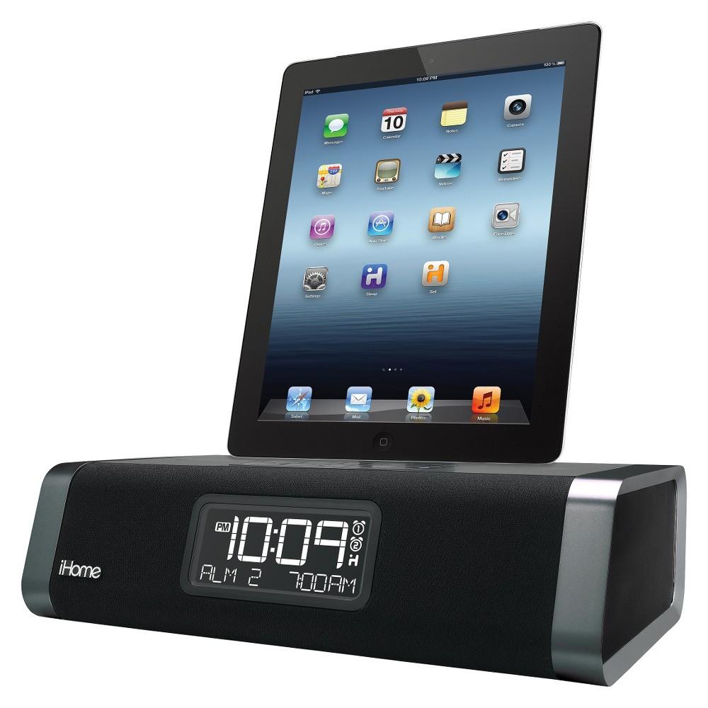iHome iDL46GC Lightning Dock Dual Charging FM Stereo Clock Radio