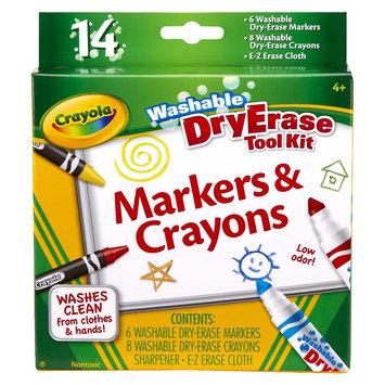 Crayola Dry Erase Marker & Crayon Set