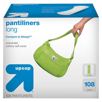 up & up Long Pantiliners - 108 count