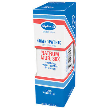 Hylands Hyland's Natrum Mur. 30x - 1000 Tablets - Other Homeopathics