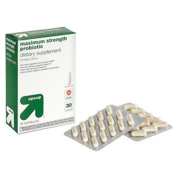 up & up Maximum Strength Probiotic - 30 Count