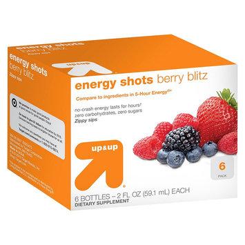 Up & Up Energy Shots Berry Blitz - 6 Bottles