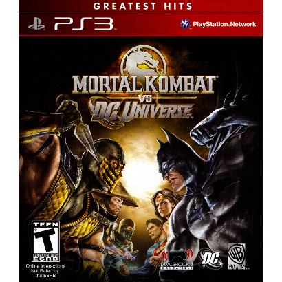 Warner Brothers Mortal Kombat VS DC Universe PRE-OWNED (PlayStation 3)