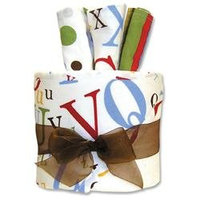 Trend Lab Gift Cake - Dr. Seuss ABC Hooded Towel - 30140