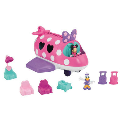 Minnie Mouse Fisher-Price Disney's Minnie Polka Dot Jet