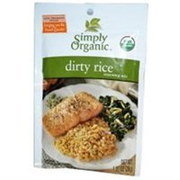 Simply Organic Dirty Rice Seasoning Mix - 1 oz