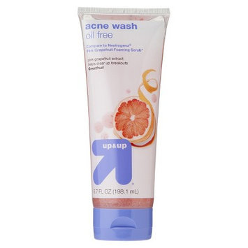 Up & Up Deep Cleaning Foaming Acne Scrub - 6.7 oz