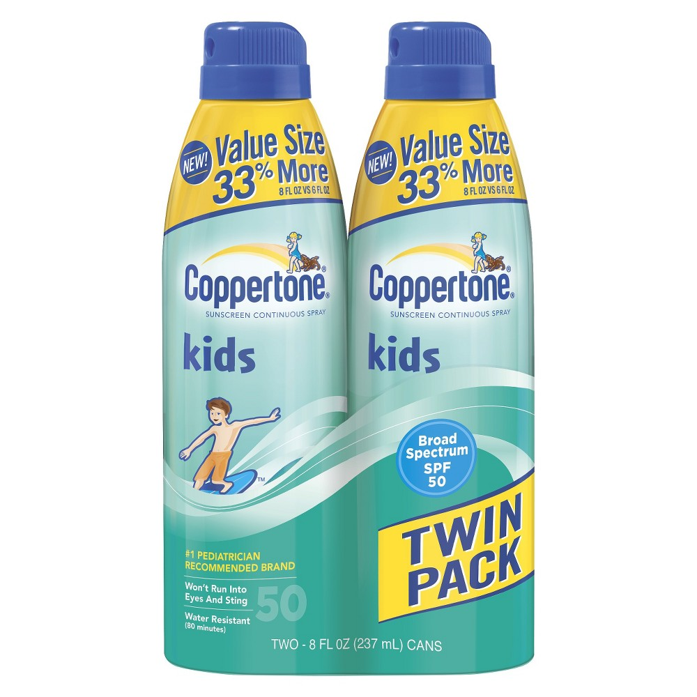 Coppertone Kids Continuous Spray Sunscreen SPF 50 - 16 oz