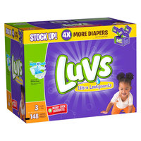 Luvs Diapers Value Pack Size 3 148 ct