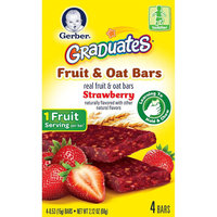 Gerber® Foods Graduates Fruit & Oat Bars Strawberry