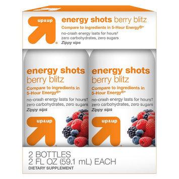 Up & Up Energy Shots - Berry Blitz (2 Bottles)