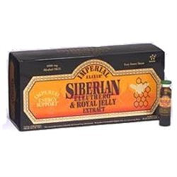 Imperial Elixir - Siberian Eleuthero Extract & Royal Jelly - 10 Bottles