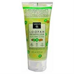 Earth Therapeutics Loofah Exfoliating Scrub - Aloe Vera & Kiwi