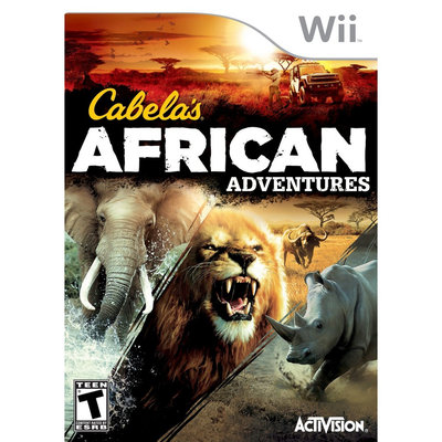 Activision Cabela's African Adventures - Third Person Shooter - Wii