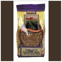 NOW Foods - Sunflower Seeds Roasted Hulled Salted - 1 lb.