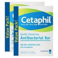 Cetaphil Antibacterial Gentle Cleansing Bars
