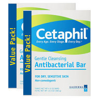 Cetaphil Antibacterial Gentle Cleansing Bars