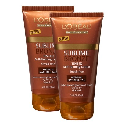 L'Oréal Sublime Bronze Pearl Tinted Lotion