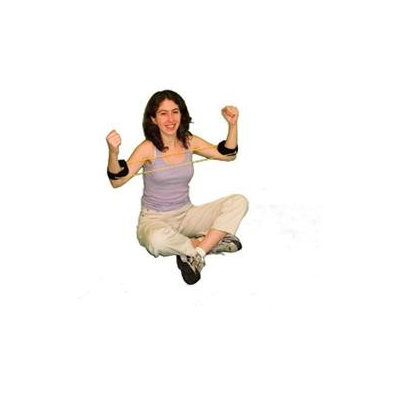 Cando Tan Exercise Tubing with Ankle Cuffs - XX-Easy