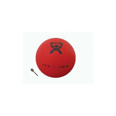 Cando 4 lb. Weighted Plyometric P.T. Ball
