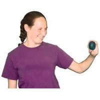 CanDo 10-1492 Gel Squeeze Ball Standard Circular Red Light