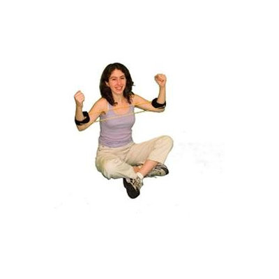 Cando Red Exercise Tubing with Ankle Cuffs - Easy