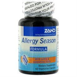 Zand Allergy Season Formula - 60 Vegetarian Capsules