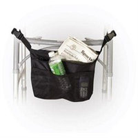 Drive Medical Deluxe Nylon Walker Carry Pouch 3 Pocket Small