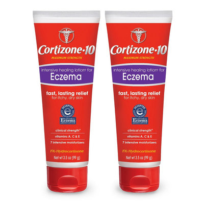 Cortizone-10 Cortizone 10 Intensive Healing Lotion for Eczema Itchy and Dry Skin