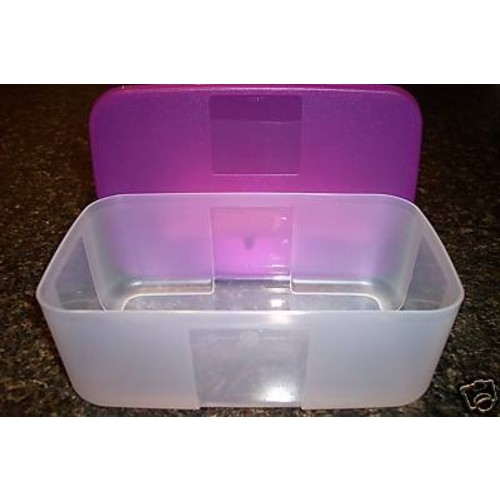 Tupperware Freezer Mates 6 Cup Purple Seal