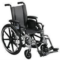 Drive Medical Viper Black Flip Back Desk Arm Wheelchair