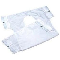 Drive Medical 13014 Patient Sling Canvas With Commode Opening