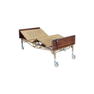Drive Medical Heavy Duty Bariatric Hospital Bed in Brown