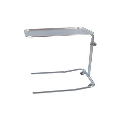 Drive Medical Single Post Mayo Instrument Stand, Chrome
