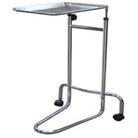 Drive Medical Double Post Mayo Instrument Stand, Chrome