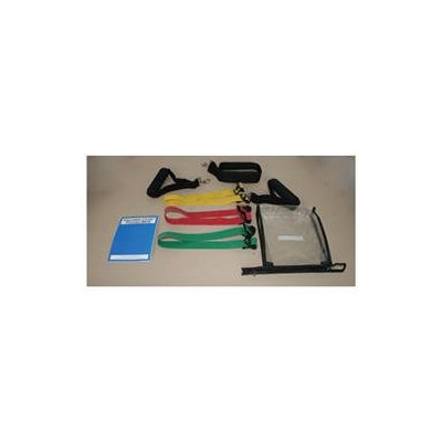 Cando Adjustable Exercise Band Kit - 5 Band Variety Pack