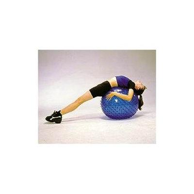 Cando Inflatable 22-inch Orange Exercise Sensi-Ball
