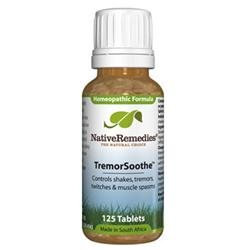 Native Remedies TSO001 TremorSoothe to Temporarily Control Shakes Tremors Twitches - 125 Tablets
