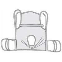 Drive Medical 13254L Polyester One Piece Commode Sling - Large