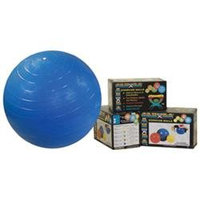 Cando Inflatable Exercise Ball - 18 inches - Yellow - Retail Box