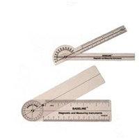 Baseline 360 degree clear plastic rulongmeter, 6 inches