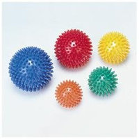 CanDo 30-1996 Massage Ball 8cm 3.2 Inches Yellow