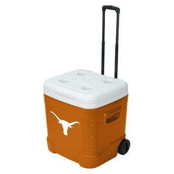 Igloo Texas Longhorns Collegiate Licensed Ice Cube Roller - Orange/ White (60 Quart)