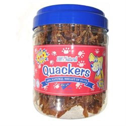 Topdawg Pet Supplies Pet Center DPC33116 Quackers 1lb Canister